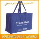 Красные хозяйственные сумки прокатанной пластмассы для сбывания (BLF-NW158)