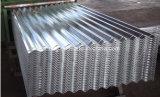 Telha de aço da cor/folha galvanizada preço do ferro da folha telhado do zinco