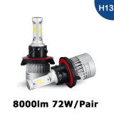 S2 H13の穂軸自動車LEDのヘッドライト