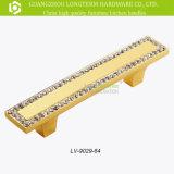 De Handvatten van de Trekkracht van de Deur van het Kristal van de Luxe van de Hardware van het Meubilair van de Legering van het zink