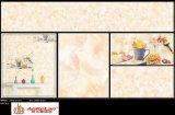 300*600 mm de material de construcción de la pared interior esmaltada azulejo para Restaurante