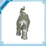 De gelukkige Boomstam van het Standbeeld van de Hars van het Beeldje van Olifanten sneed het Decoratieve Nieuwe Decor van het Huis