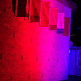 12*10W RGBW는 LED 동위 빛을 방수 처리한다