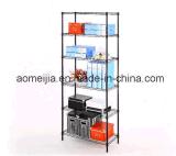 Мебель металла дома шкафа полки провода металла Shelving провода крома