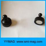 Soporte de calendario magnético Neodymium Push Pin Magnet NdFeB para nevera