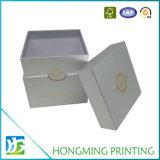 Logotipo de lujo del papel de arte del reloj de oro caja de empaquetado