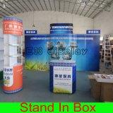 Стойка выставки легкой установки таможни DIY портативная модульная для будочки индикации торговой выставки справедливой
