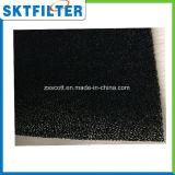 El filtro de aire activado Ppi de la espuma del carbón 35 modifica talla para requisitos particulares