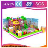 A cor-de-rosa caçoa o campo de jogos interno macio pequeno (QL-18-9)