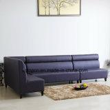 (SP-KS242) Kundenspezifisches ledernes langes Eckbanquette-Sofa für Gaststätte