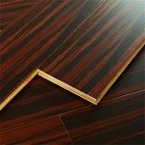 plancher en bois solide d'isolation thermique de 15mm pour la salle de séjour