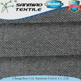 Il cotone di stile 250GSM della saia di modo che lavora a maglia il tessuto lavorato a maglia del denim con fa per ordinare