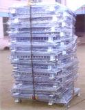 空シート(鋼鉄ケージ)が付いている金網の容器