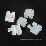 La escuadra de ortodoncia cerámica Ce0197 e ISO13485