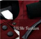 Jupe en cuir de la chemise à tolérances serrées à la mode la plus neuve