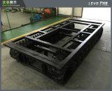 Type de support train d'atterrissage en caoutchouc de piste utilisé pour l'inspection du travail du travail