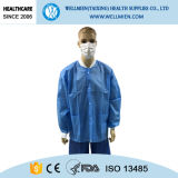 Haute qualité Non-Woven Blouses de laboratoire médical à usage unique