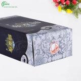 Doos van de Gift van de Wijn van het Ontwerp van het Embleem van de douane de Verpakkende (kg-PX058)