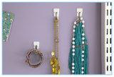 Paquete del valor de los ganchos de leva del alambre, pequeño, blanco, 9-Hooks