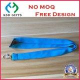 A segurança azul conservada em estoque em branco da cor caçoa o colhedor da garganta (KSD-943)