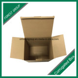 Brown Recycable Corrugated Shipping Carton Box para Venda