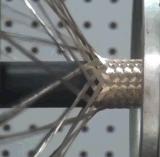 Machine à tressage à haute vitesse pour tuyau en caoutchouc