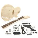 DIY elektrische Gitarren-Gitarren-Installationssatz-/Lp-Art/Gitarre Cessprin Musik (CPGK004)