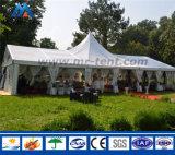 Tenda esterna del giardino del Pagoda per l'evento del partito della famiglia
