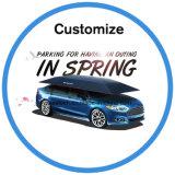 Auto, das automatischen Sun und Regenschutz-Auto-Regenschirm-Zelt-Halter parkt