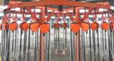 手動1トンのオーバーロードの振幅制限器は持ち上げ装置のチェーンブロックを手運転する