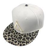 Hip Hop personalizado Hat tapón de algodón blanco con bordado en 3D.