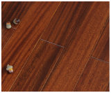 Plancher en bois africain imperméable à l'eau normal d'Okan avec la conformité d'OIN