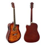 Гитара тела Lindenwood переклейки тавра 41inchtop Aiersi электрическая акустическая