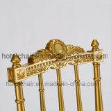 Antikes Goldmetall, das Bankett Chiavira Stuhl (FD-916-1, speist)