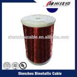 alumínio redondo fio esmaltado do enrolamento do cabo 180c