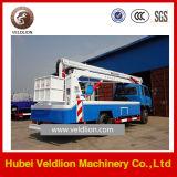 トラックの(insulative働くバケツと) /Aerialの空気のプラットホームの働くトラック