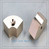 Spezieller kundenspezifischer Magnet des Neodym-N42 mit Nickelplattierung