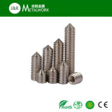 A2 A4 Acier inoxydable Hex hexagon Socket Head Flat Point / Cone Point / Dog Point / Cup Point Set Screw