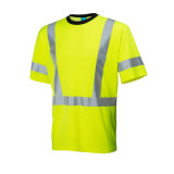 Prix ​​d'usine High Visibility Green Reflex T-Shirts of Cotton