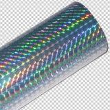 Хроматичная голографическая горячая пленка штемпелюя фольги для ткани/пластмассы/тканья