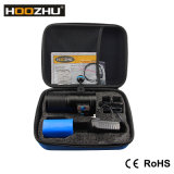새로운 Hoozhu V72 수중 영상 가벼운 최대 7200lm와 Watrproof 100m LED 토치