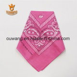 Coton 100% occidental en gros de vente chaud de Bandanas