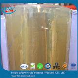 feuille dure flexible de PVC de transparent de largeur de 600mm