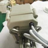 """2 """" valvola a sfera motorizzata elettrica approvata del PVC del NSF di modo Dn50mm 24V di pollice 2"""