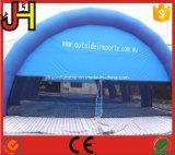 Tienda inflable del acontecimiento de la tienda de la bóveda inflable inflable azul de la tienda para al aire libre