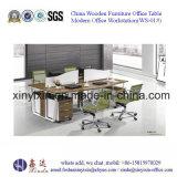 Стол офиса штата цены рабочей станции офиса панели дешевый (WS-07#)