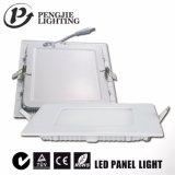 6W Blanco de la luz de panel LED Slim (cuadrado)