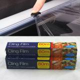 L'usine s'attachent film d'emballage en papier rétrécissable du film LLDPE