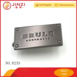 Zinc Alloy Diecasting Brand Name Metal Plate