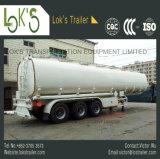 de Vloeibare Chemische Semi Aanhangwagen van de Tanker 3axle 37000L
